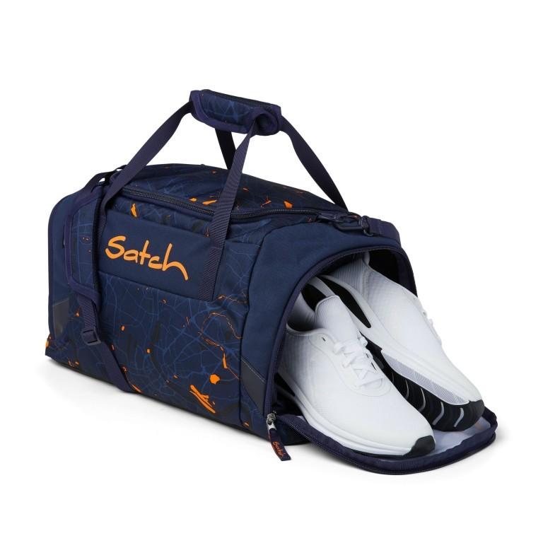Sporttasche, Farbe: schwarz, anthrazit, grau, blau/petrol, grün/oliv, rot/weinrot, flieder/lila, rosa/pink, orange, gelb, bunt, Marke: Satch, Abmessungen in cm: 45.0x25.0x25.0, Bild 2 von 5