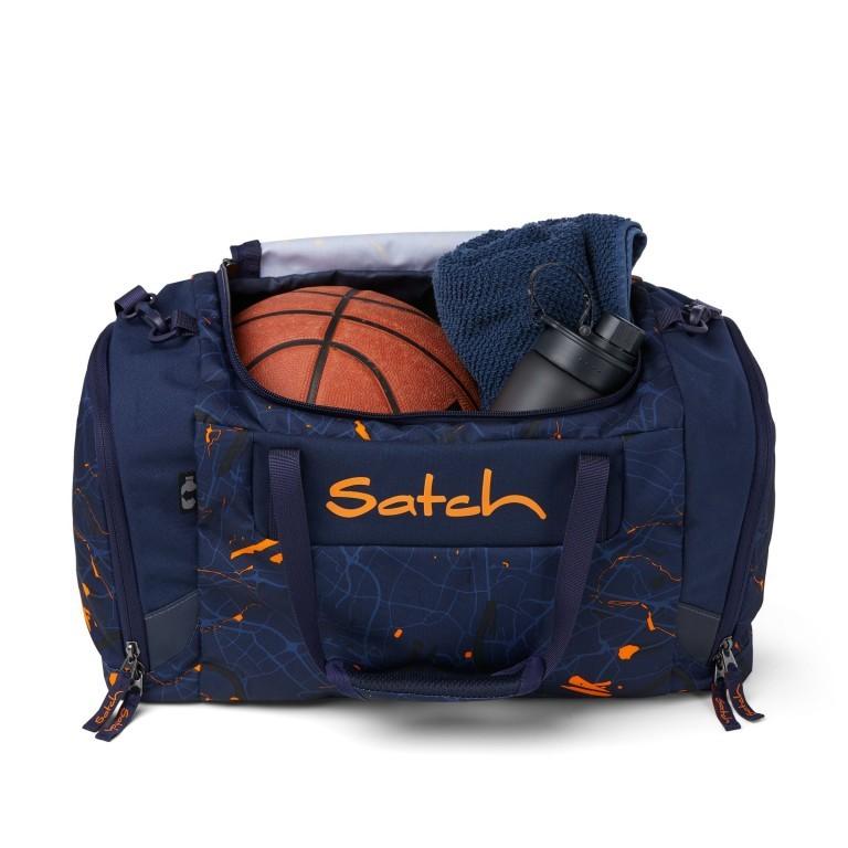 Sporttasche, Farbe: schwarz, anthrazit, grau, blau/petrol, grün/oliv, rot/weinrot, flieder/lila, rosa/pink, orange, gelb, bunt, Marke: Satch, Abmessungen in cm: 45.0x25.0x25.0, Bild 4 von 5
