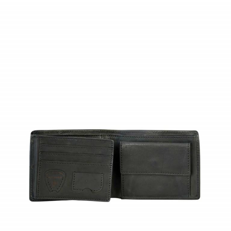 Geldbörse Upminster Billfold H6 Black, Farbe: schwarz, Marke: Strellson, EAN: 4053533404513, Abmessungen in cm: 12.0x9.5x2.0, Bild 2 von 2