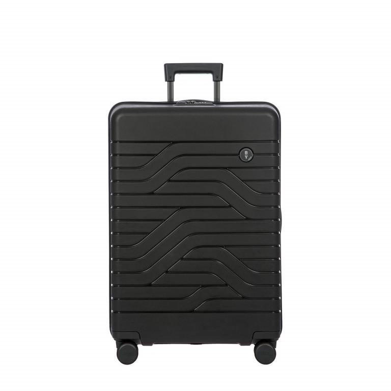 Koffer B Y by Brics Ulisse 71 cm, Farbe: schwarz, blau/petrol, gelb, Marke: Brics, Abmessungen in cm: 49.0x71.0x28.0, Bild 1 von 1