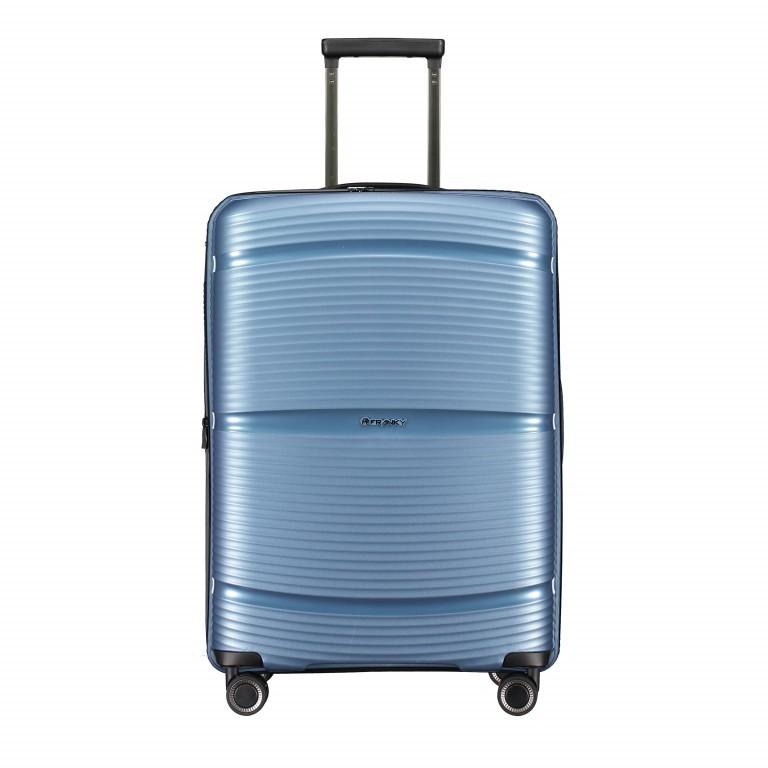 Koffer PP11 66 cm, Farbe: grau, blau/petrol, rosa/pink, Marke: Franky, Abmessungen in cm: 45.5x66.0x26.0, Bild 1 von 1