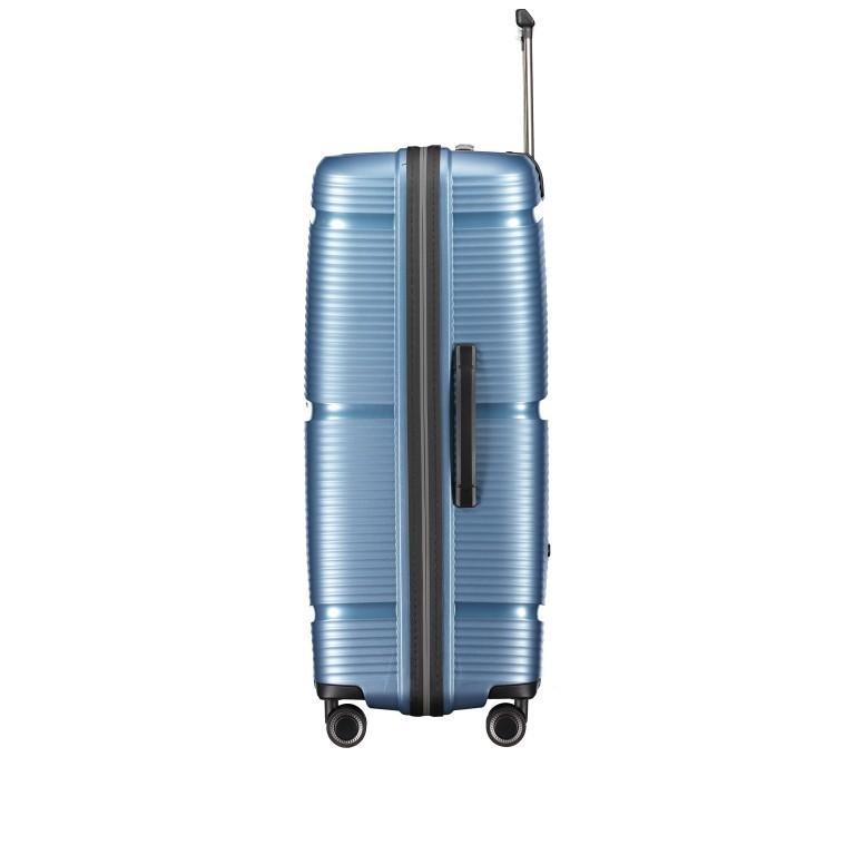 Koffer PP11 75 cm, Farbe: grau, blau/petrol, rot/weinrot, rosa/pink, Marke: Franky, Abmessungen in cm: 52.0x75.0x31.0, Bild 2 von 7