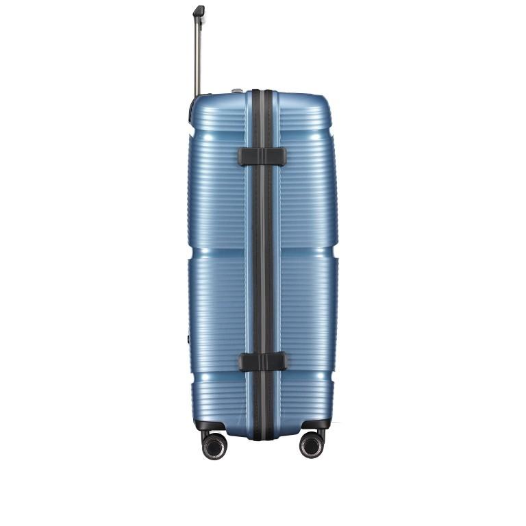 Koffer PP11 75 cm, Farbe: grau, blau/petrol, rot/weinrot, rosa/pink, Marke: Franky, Abmessungen in cm: 52.0x75.0x31.0, Bild 3 von 7