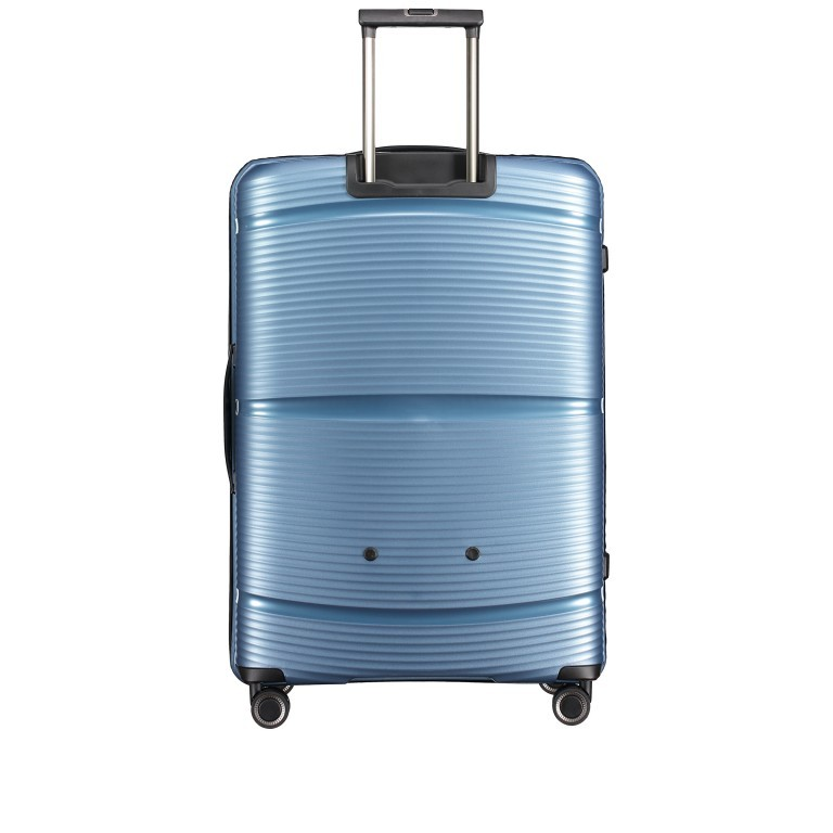 Koffer PP11 75 cm, Farbe: grau, blau/petrol, rot/weinrot, rosa/pink, Marke: Franky, Abmessungen in cm: 52.0x75.0x31.0, Bild 4 von 7