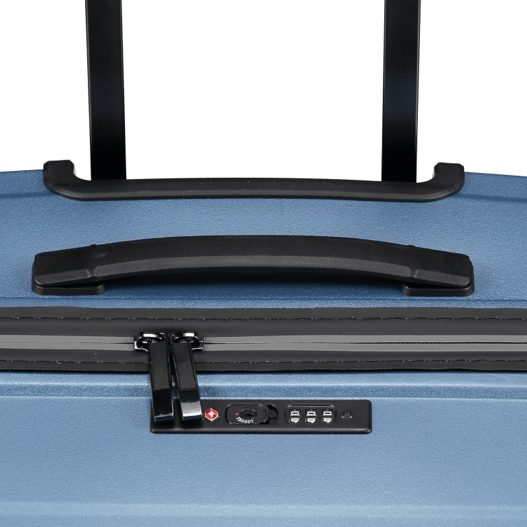 Koffer PP11 75 cm, Farbe: grau, blau/petrol, rot/weinrot, rosa/pink, Marke: Franky, Abmessungen in cm: 52.0x75.0x31.0, Bild 7 von 7