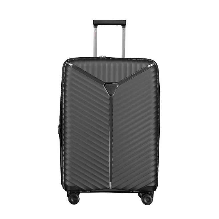 Koffer PP13 66 cm, Farbe: schwarz, blau/petrol, rosa/pink, metallic, Marke: Franky, Abmessungen in cm: 45.5x66.0x26.0, Bild 1 von 1