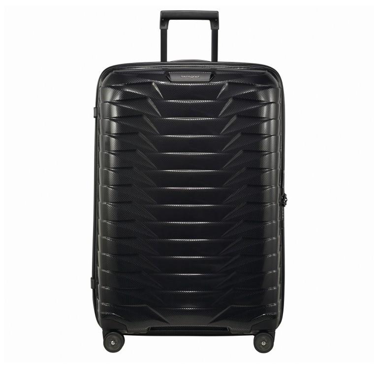 Koffer Proxis Spinner 75, Farbe: schwarz, blau/petrol, metallic, Marke: Samsonite, Abmessungen in cm: 51.0x75.0x31, Bild 1 von 1