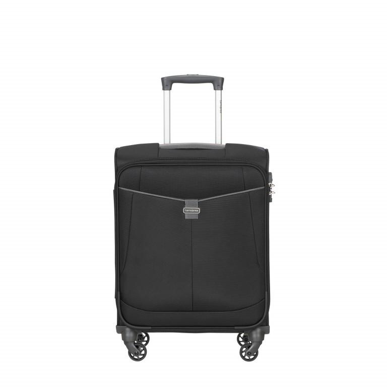 Koffer Adair Spinner 55, Farbe: schwarz, blau/petrol, Marke: Samsonite, Abmessungen in cm: 40.0x55.0x20.0, Bild 1 von 1