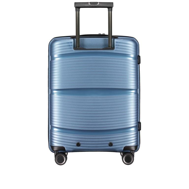 Koffer PP11 55 cm, Farbe: grau, blau/petrol, rot/weinrot, rosa/pink, Marke: Franky, Abmessungen in cm: 39.5x55.0x20.0, Bild 4 von 9