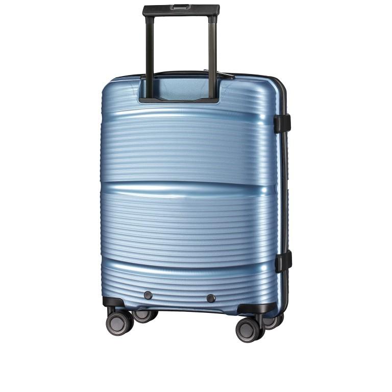 Koffer PP11 55 cm, Farbe: grau, blau/petrol, rot/weinrot, rosa/pink, Marke: Franky, Abmessungen in cm: 39.5x55.0x20.0, Bild 5 von 9