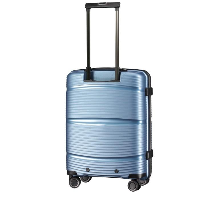 Koffer PP11 55 cm, Farbe: grau, blau/petrol, rot/weinrot, rosa/pink, Marke: Franky, Abmessungen in cm: 39.5x55.0x20.0, Bild 6 von 9