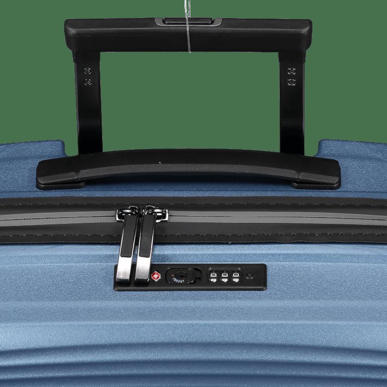 Koffer PP11 55 cm, Farbe: grau, blau/petrol, rot/weinrot, rosa/pink, Marke: Franky, Abmessungen in cm: 39.5x55.0x20.0, Bild 9 von 9