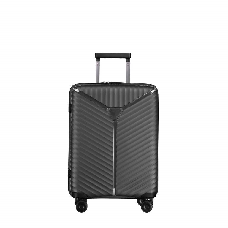 Koffer PP13 55 cm, Farbe: schwarz, blau/petrol, grün/oliv, rosa/pink, metallic, Marke: Franky, Abmessungen in cm: 39.0x55.0x21.0, Bild 1 von 1