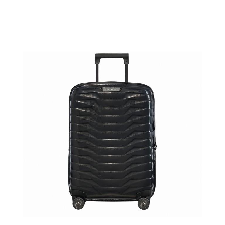 Koffer Proxis Spinner 55, Farbe: schwarz, blau/petrol, metallic, Marke: Samsonite, Abmessungen in cm: 40.0x55.0x20.0, Bild 1 von 1