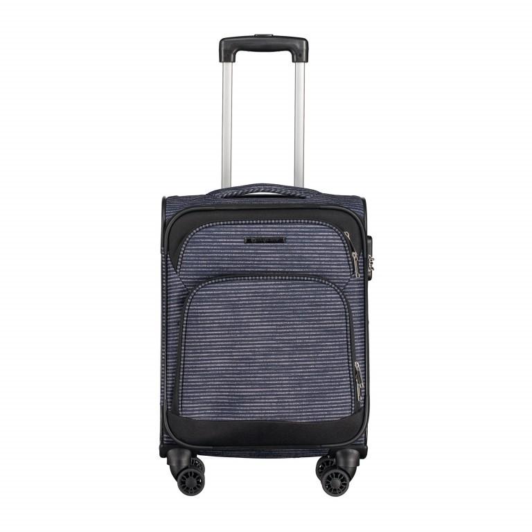 Koffer T1 55 cm, Farbe: schwarz, anthrazit, grau, blau/petrol, grün/oliv, rot/weinrot, rosa/pink, gelb, bunt, Marke: Franky, Abmessungen in cm: 36.0x55.0x24.0, Bild 1 von 1