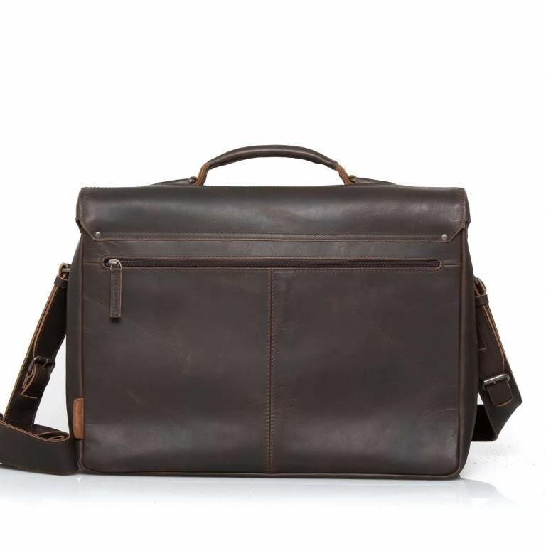 Aktentasche Hunter Jack Vintage Brown, Farbe: braun, Marke: Aunts & Uncles, EAN: 4250394922761, Abmessungen in cm: 43.0x33.0x16.5, Bild 2 von 5