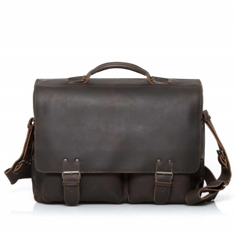 Aktentasche Hunter Jack Vintage Brown, Farbe: braun, Marke: Aunts & Uncles, EAN: 4250394922761, Abmessungen in cm: 43.0x33.0x16.5, Bild 1 von 5