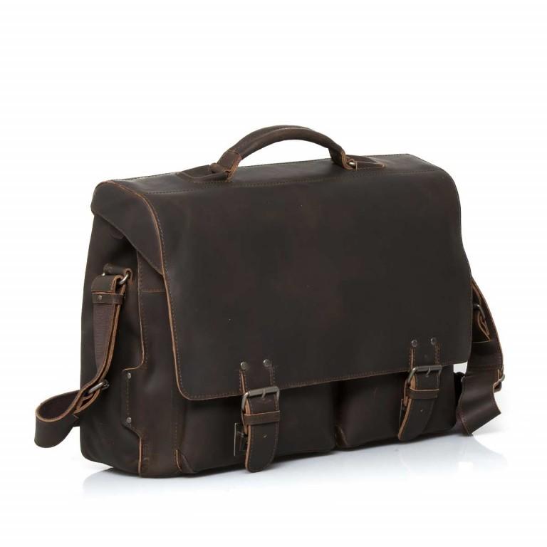 Aktentasche Hunter Jack Vintage Brown, Farbe: braun, Marke: Aunts & Uncles, EAN: 4250394922761, Abmessungen in cm: 43.0x33.0x16.5, Bild 3 von 5