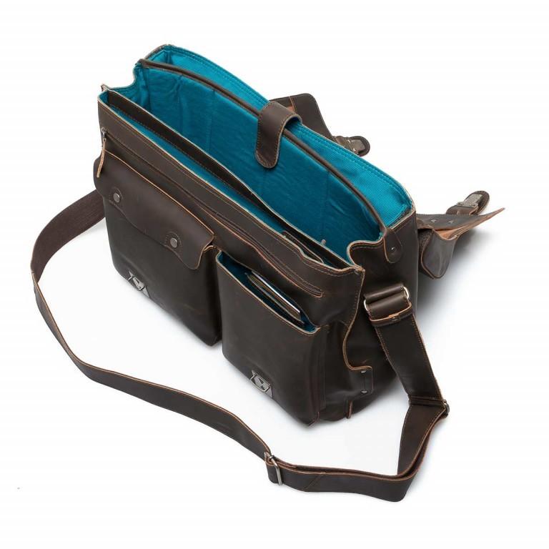 Aktentasche Hunter Jack Vintage Brown, Farbe: braun, Marke: Aunts & Uncles, EAN: 4250394922761, Abmessungen in cm: 43.0x33.0x16.5, Bild 4 von 5