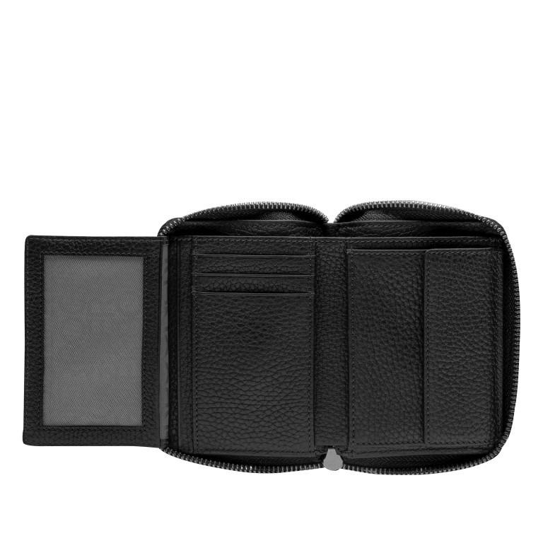 Geldbörse Sulden Norah, Farbe: schwarz, grau, blau/petrol, cognac, Marke: Bogner, Abmessungen in cm: 12.5x10.0x2.5, Bild 4 von 4