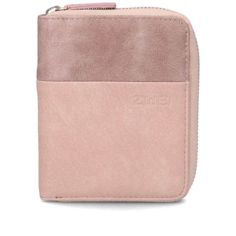 Geldbörse Eva Wallet EVW10, Farbe: schwarz, grau, blau/petrol, cognac, rosa/pink, beige, Marke: Zwei, Abmessungen in cm: 10.0x13.0x4.0, Bild 1 von 6