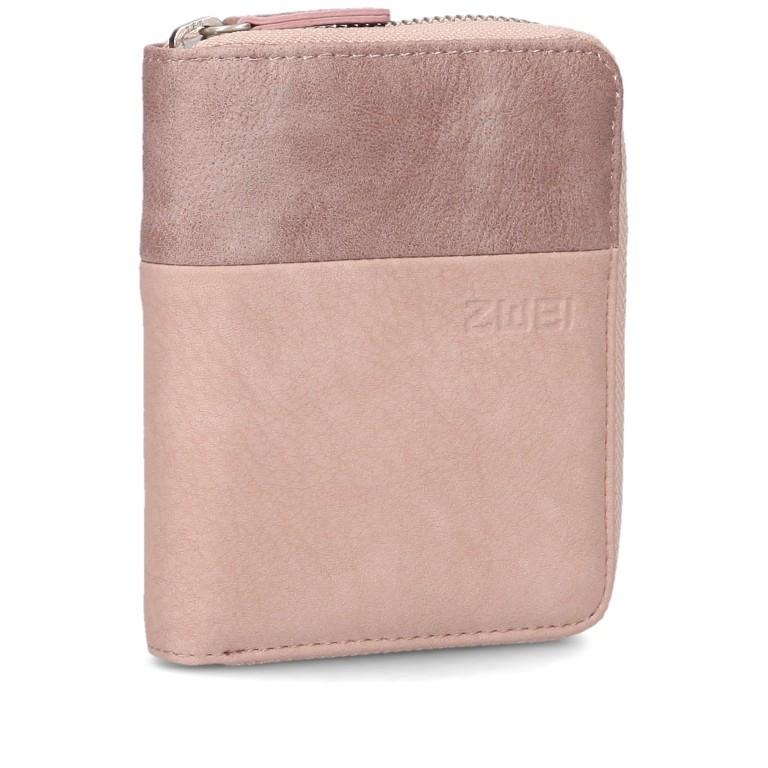 Geldbörse Eva Wallet EVW10, Farbe: schwarz, grau, blau/petrol, cognac, rosa/pink, beige, Marke: Zwei, Abmessungen in cm: 10.0x13.0x4.0, Bild 2 von 6