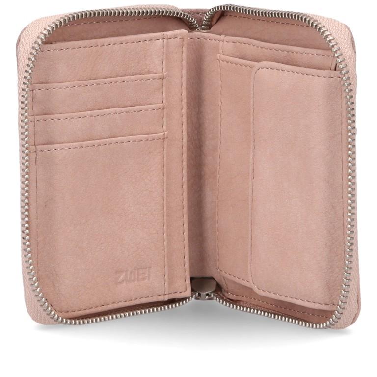 Geldbörse Eva Wallet EVW10, Farbe: schwarz, grau, blau/petrol, cognac, rosa/pink, beige, Marke: Zwei, Abmessungen in cm: 10.0x13.0x4.0, Bild 5 von 6