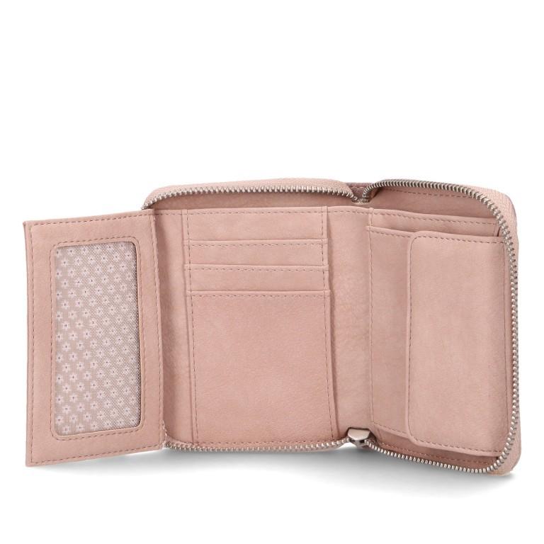 Geldbörse Eva Wallet EVW10, Farbe: schwarz, grau, blau/petrol, cognac, rosa/pink, beige, Marke: Zwei, Abmessungen in cm: 10.0x13.0x4.0, Bild 6 von 6