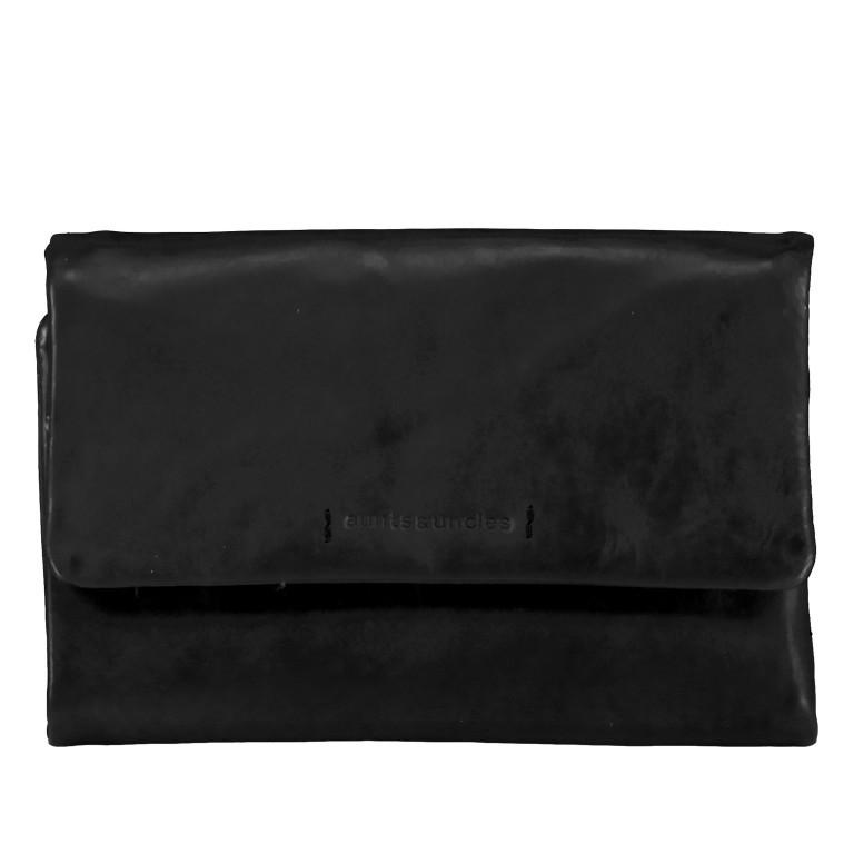 Geldbörse Jamie's Orchard Peach Jet Black, Farbe: schwarz, Marke: Aunts & Uncles, EAN: 4250394943896, Abmessungen in cm: 16.0x10.0x2.0, Bild 1 von 6