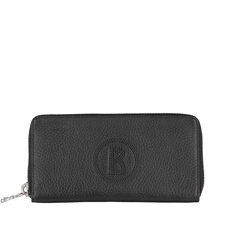 Geldbörse Sulden Ela, Farbe: schwarz, grau, blau/petrol, cognac, taupe/khaki, Marke: Bogner, Abmessungen in cm: 18.5x10.0x2.0, Bild 1 von 5