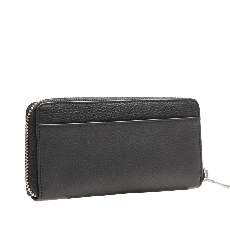 Geldbörse Sulden Ela, Farbe: schwarz, grau, blau/petrol, cognac, taupe/khaki, Marke: Bogner, Abmessungen in cm: 18.5x10.0x2.0, Bild 3 von 5