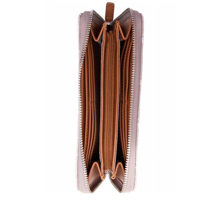 Geldbörse Anastasia, Farbe: schwarz, grau, blau/petrol, braun, taupe/khaki, beige, Marke: Tamaris, Abmessungen in cm: 19.5x10.0x2.5, Bild 4 von 4