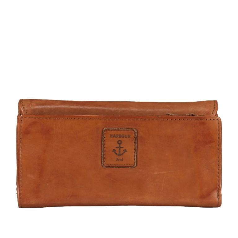 Geldbörse Anchor-Love Fayette B3.1549, Farbe: anthrazit, blau/petrol, cognac, gelb, Marke: Harbour 2nd, Abmessungen in cm: 18.5x9.5x3.0, Bild 3 von 7