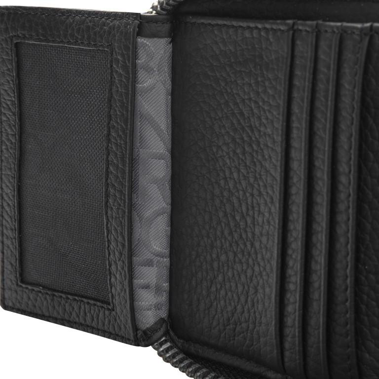 Geldbörse Sulden Dama, Farbe: schwarz, grau, blau/petrol, taupe/khaki, Marke: Bogner, Abmessungen in cm: 10.0x9.0x1.5, Bild 6 von 6