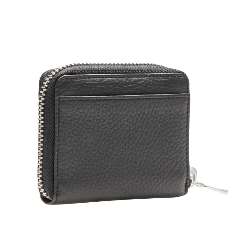 Geldbörse Sulden Dama, Farbe: schwarz, grau, blau/petrol, taupe/khaki, Marke: Bogner, Abmessungen in cm: 10.0x9.0x1.5, Bild 3 von 6