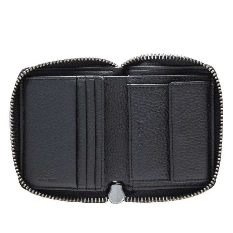 Geldbörse Sulden Dama, Farbe: schwarz, grau, blau/petrol, taupe/khaki, Marke: Bogner, Abmessungen in cm: 10.0x9.0x1.5, Bild 4 von 6