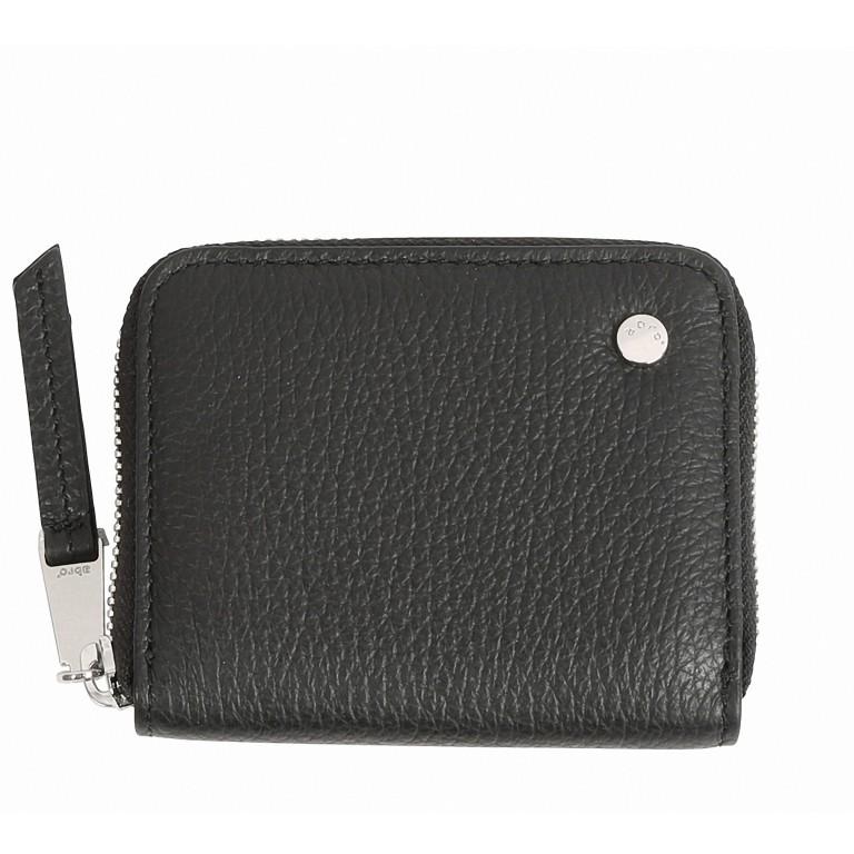 Geldbörse Adria, Farbe: schwarz, blau/petrol, cognac, taupe/khaki, Marke: Abro, Abmessungen in cm: 8.0x11.0x1.0, Bild 1 von 1