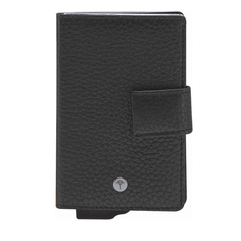 Geldbörse E-Cage C-Two, Farbe: schwarz, anthrazit, braun, Marke: Joop!, Abmessungen in cm: 7.0x10.0x1.8, Bild 1 von 1