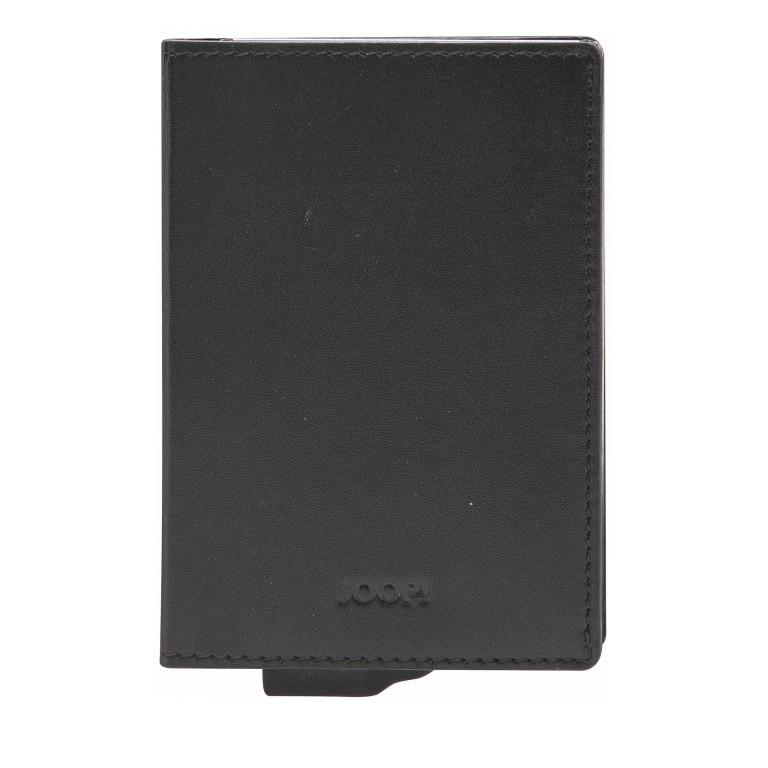 Geldbörse E-Cage C-One, Farbe: schwarz, anthrazit, braun, Marke: Joop!, Abmessungen in cm: 7.0x10.5x1.5, Bild 1 von 1