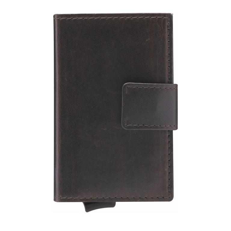 Geldbörse E-Cage C-THREE, Farbe: schwarz, braun, Marke: Strellson, Abmessungen in cm: 6.5x10.0x2.5, Bild 1 von 1