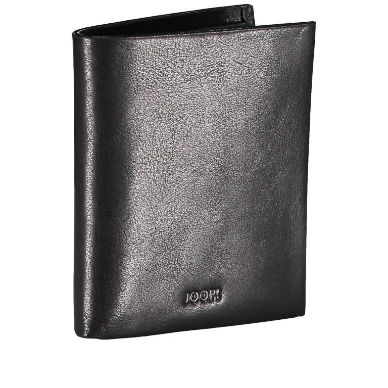 Geldbörse Novara Daphnis SV4 V6, Farbe: schwarz, braun, Marke: Joop!, Abmessungen in cm: 9.0x10.5x2.0, Bild 2 von 3