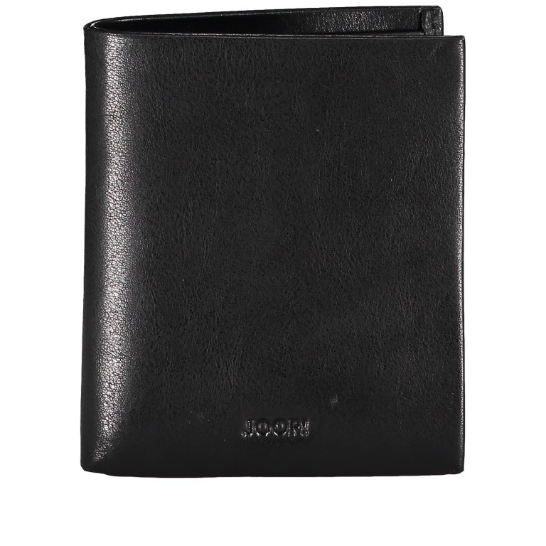 Geldbörse Novara Daphnis SV4 V6, Farbe: schwarz, braun, Marke: Joop!, Abmessungen in cm: 9.0x10.5x2.0, Bild 1 von 3