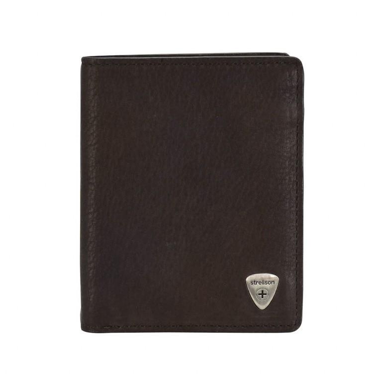 Geldbörse Harrison Billfold V8 Brown, Farbe: braun, Marke: Strellson, EAN: 4053533015535, Abmessungen in cm: 9.5x12.0x2.0, Bild 1 von 2