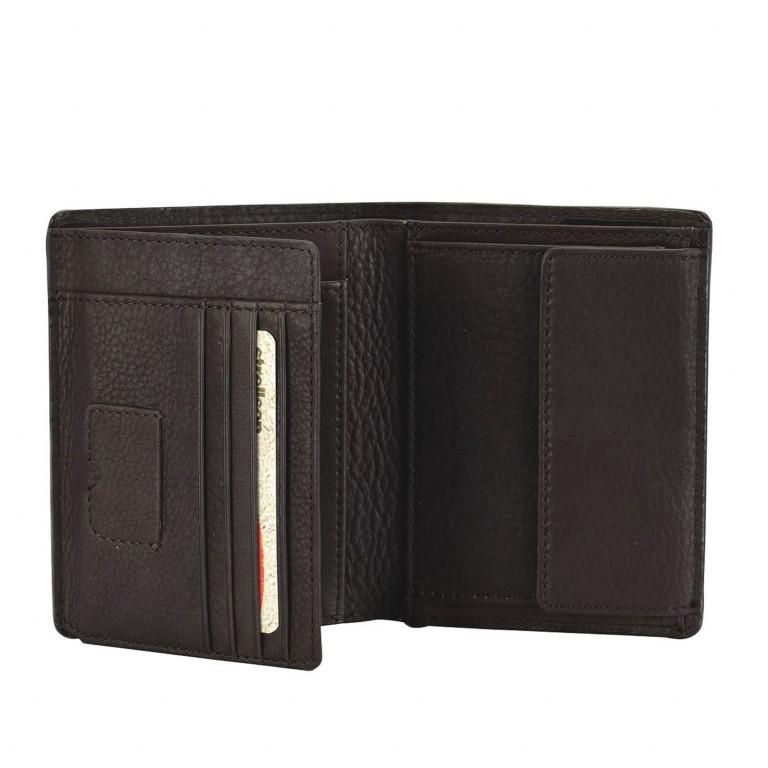 Geldbörse Harrison Billfold V8 Brown, Farbe: braun, Marke: Strellson, EAN: 4053533015535, Abmessungen in cm: 9.5x12.0x2.0, Bild 2 von 2