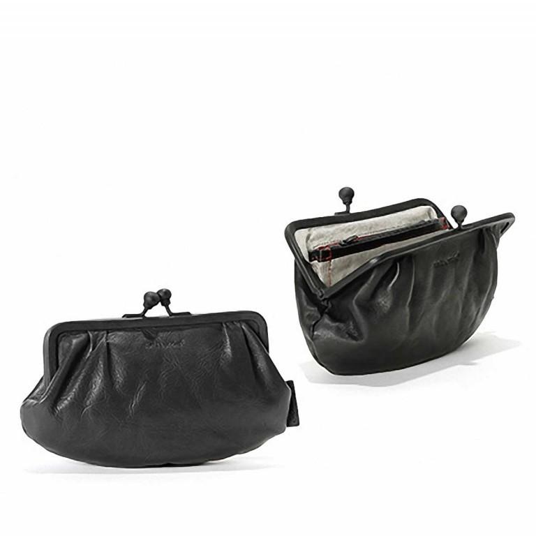 Geldbörse Grandma's Luxury Club Rose Black Smoke, Farbe: schwarz, Marke: Aunts & Uncles, EAN: 4250394907904, Abmessungen in cm: 23.0x15.0x4.0, Bild 2 von 2