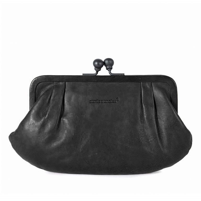 Geldbörse Grandma's Luxury Club Rose Black Smoke, Farbe: schwarz, Marke: Aunts & Uncles, EAN: 4250394907904, Abmessungen in cm: 23.0x15.0x4.0, Bild 1 von 2