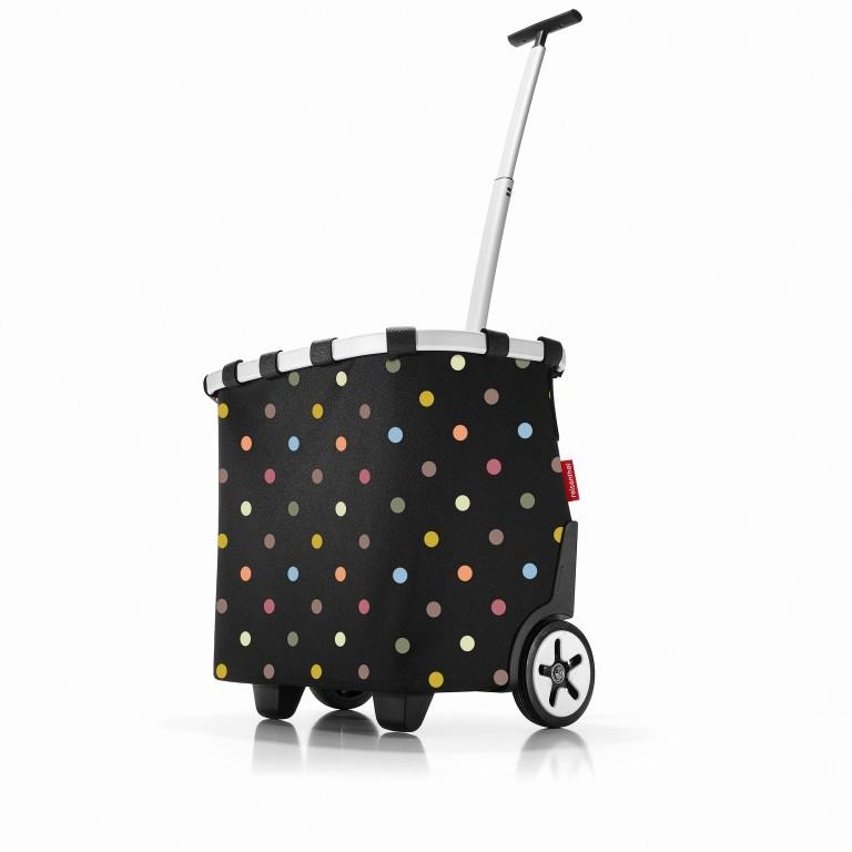 Einkaufsroller Carrycruiser Dots, Farbe: bunt, Marke: Reisenthel, EAN: 4012013579318, Abmessungen in cm: 42.0x47.5x32.0, Bild 1 von 7