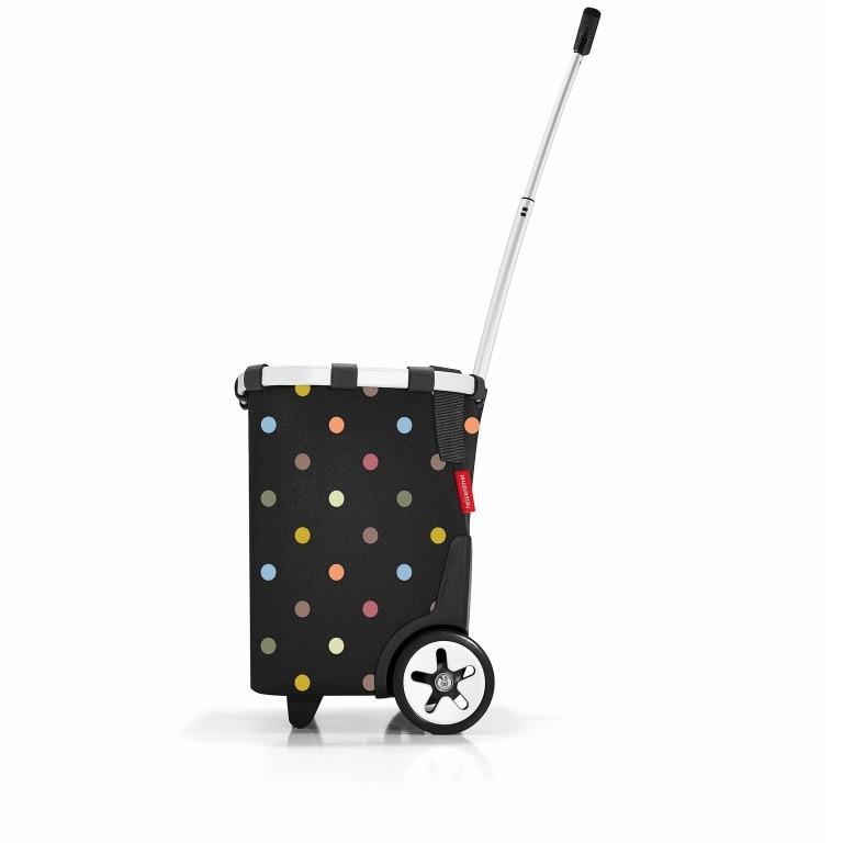 Einkaufsroller Carrycruiser Dots, Farbe: bunt, Marke: Reisenthel, EAN: 4012013579318, Abmessungen in cm: 42.0x47.5x32.0, Bild 2 von 7