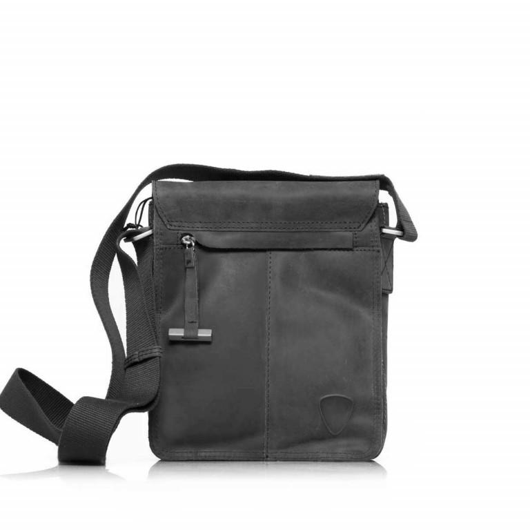 Umhängetasche Richmond Messenger S Black, Farbe: schwarz, Marke: Strellson, EAN: 4053533065134, Abmessungen in cm: 20.0x23.0x6.0, Bild 3 von 5
