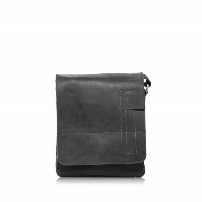 Umhängetasche Richmond Messenger S Black, Farbe: schwarz, Marke: Strellson, EAN: 4053533065134, Abmessungen in cm: 20.0x23.0x6.0, Bild 4 von 5